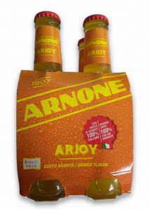 Limonata Arnone Arjoy Arancia - 4 x 200ml